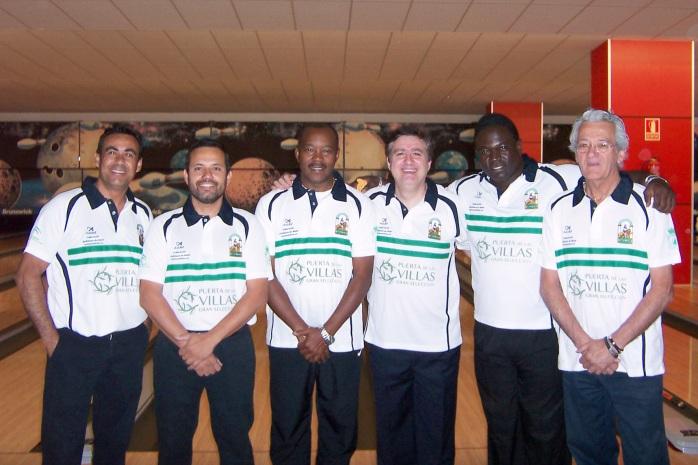 Seleccion andaluza de bowling 2012 Campeonato de España Coruña