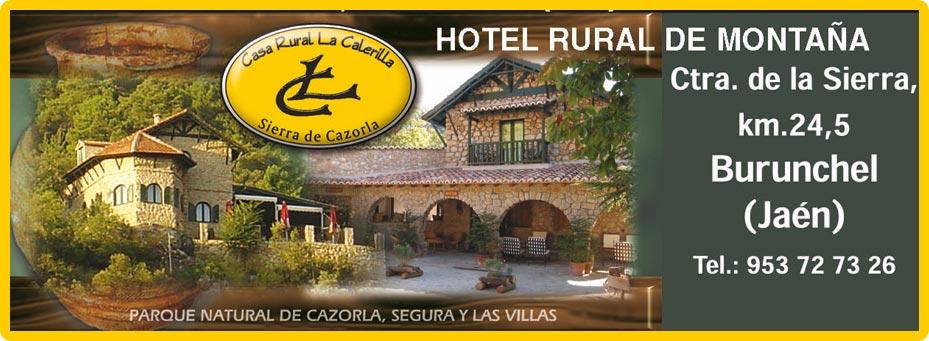 Hotel rural la calerilla gu a de ja n - Hotel rural en la palma ...