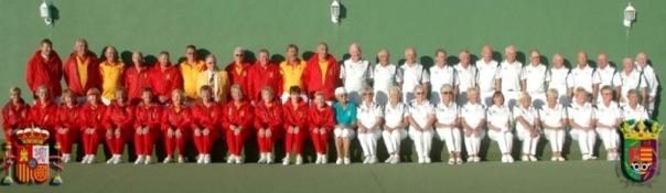 Equipos España M´laga de Bolo Césped