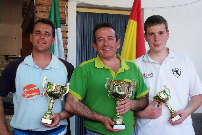 Podium-1ª-categoría-XV-Copa-Federación-de-bolo-andaluz