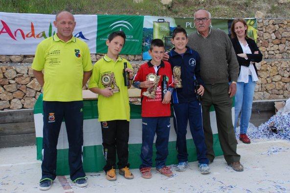 Podium-alevines-V-Trofeo-Parque-Natural-Cazorla