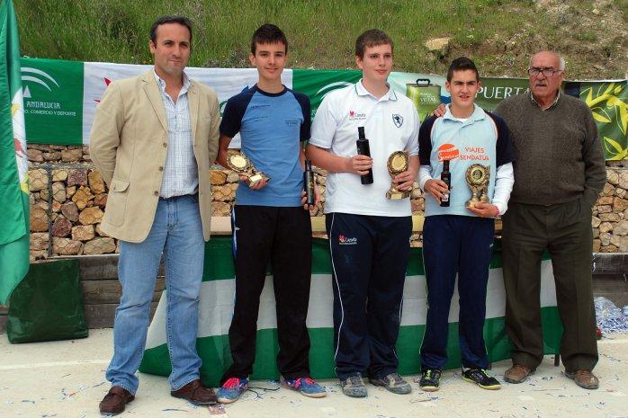 Podium-juveniles-V-Trofeo-Parque-Natural-Cazorla