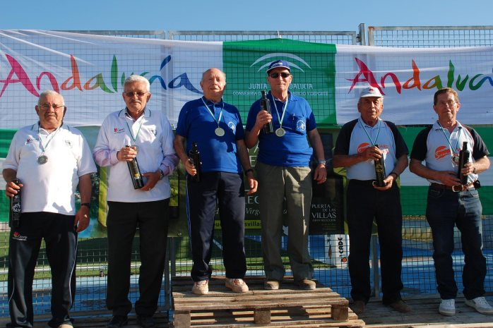Podium-veteranos-Campeontato-Andalucia-Bolo-Andaluz-parejas