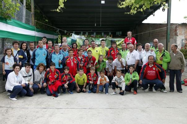 campeonato andalucia bolo andaluz montaña 2013 foto familia