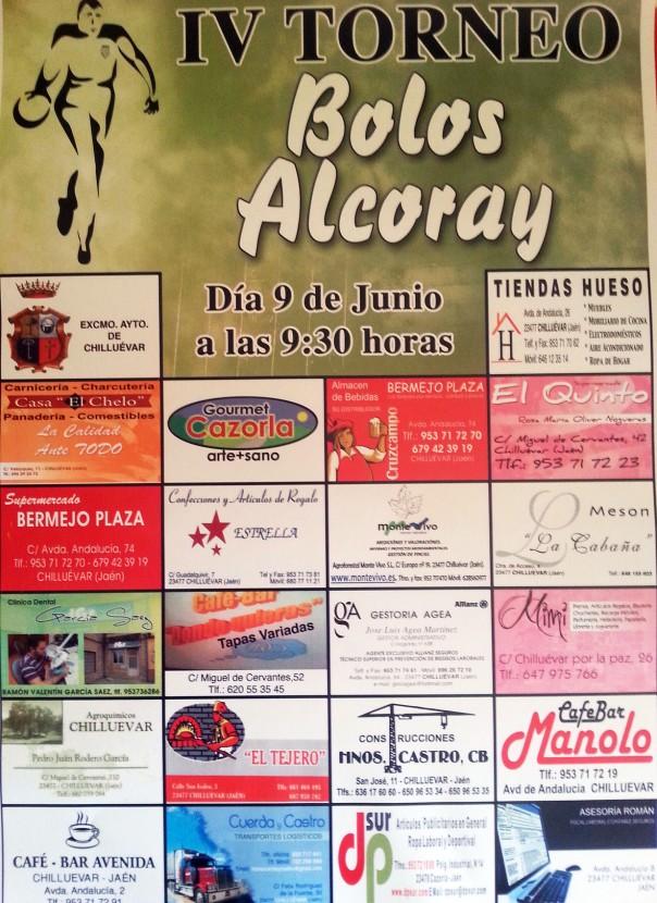 cartel IV Troneo CIRE Alcoray red
