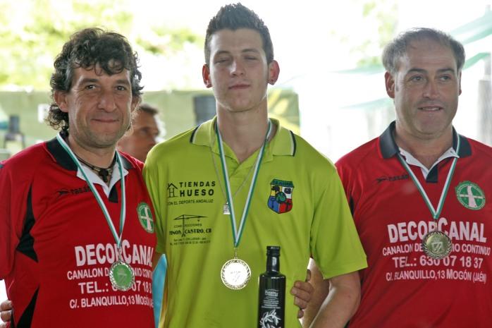 podium 1ª masculina campeonato andalucia bolo andaluz montaña 2013 foto familia