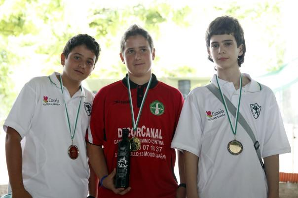 podium infantiles campeonato andalucia bolo andaluz montaña 2013