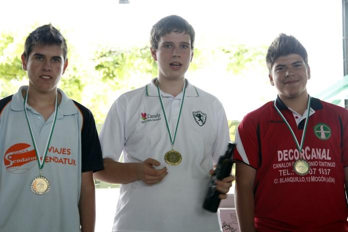 podium juveniles campeonato andalucia bolo andaluz montaña 2013