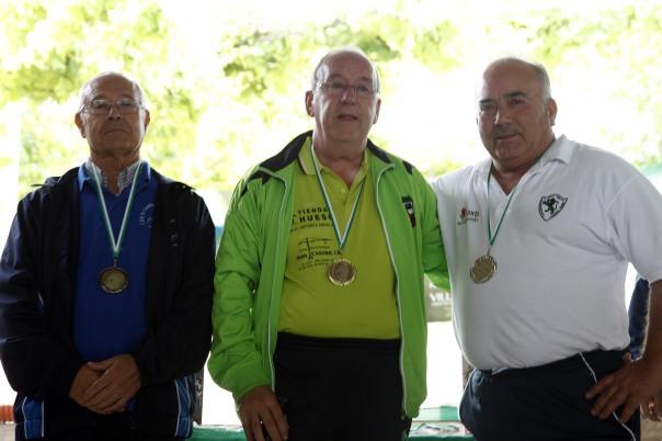 podium veteranos A campeonato andalucia bolo andaluz montaña 2013