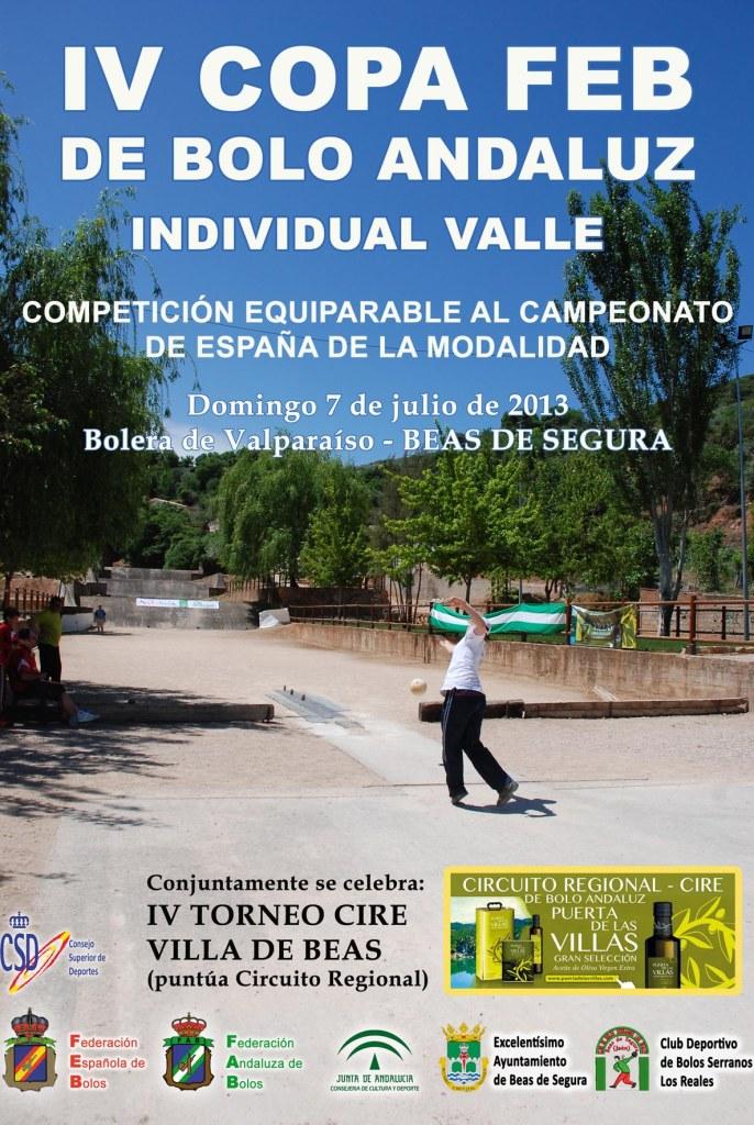 Copa FEB torneo Villa de Beas bolo andaluz