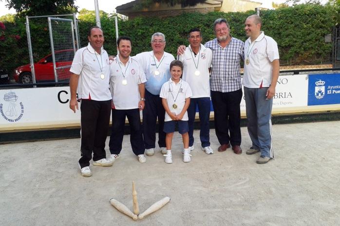 Campeonato de Andalucia de Bolo palma 2013