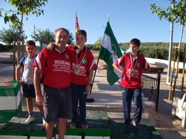 podium-alevines-Campeonatos-Andalucía-Valle