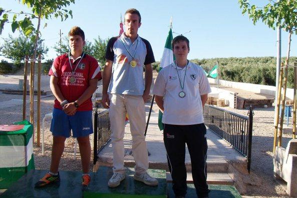 podium-juveniles-Campeonatos-Andalucía-Valle