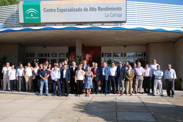 Reunion-Federaciones-deportivas-andaluzas-consejero-luciano-alonso