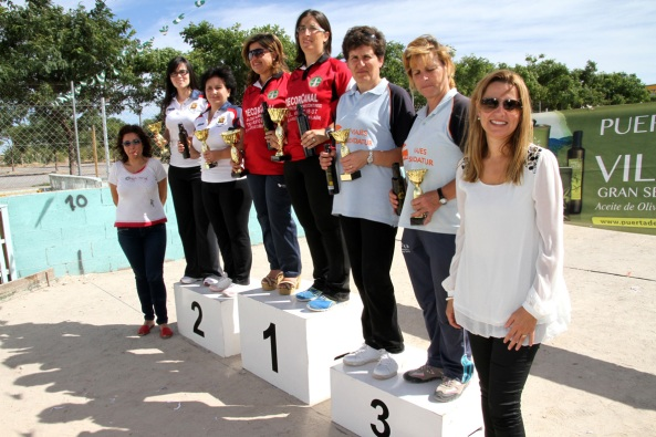 -Podium-damas-Campeonato-España-de-Bolo-Andaluz-parejas-Vila-real-2013