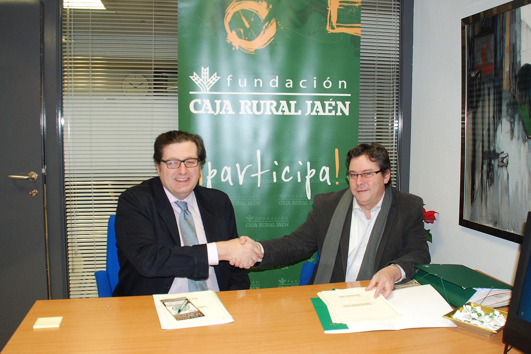 Bolo andaluz se firma el convenio con caja rural de ja n for Caja rural jaen oficinas