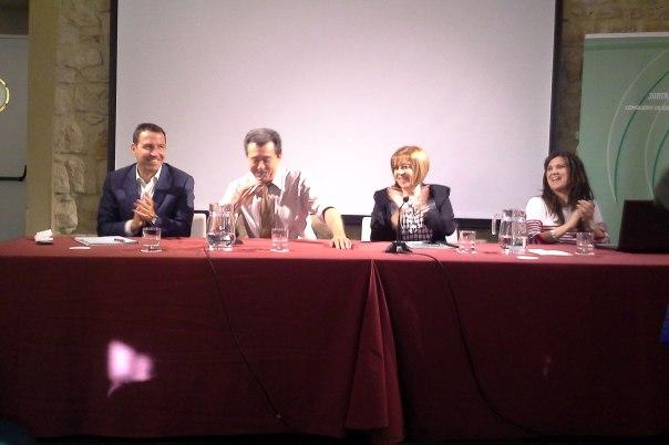 Ignacio-Rodriguez,-Yolanda-Caballero,-Purificación-Gálvez-Ley-Andaluza-del-Deporte