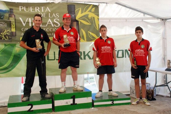 Podium-2ª-categoria-trofeo-parque-natural-bolo-andaluz-2014