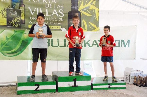Podium-alevines-trofeo-parque-natural-bolo-andaluz-2014