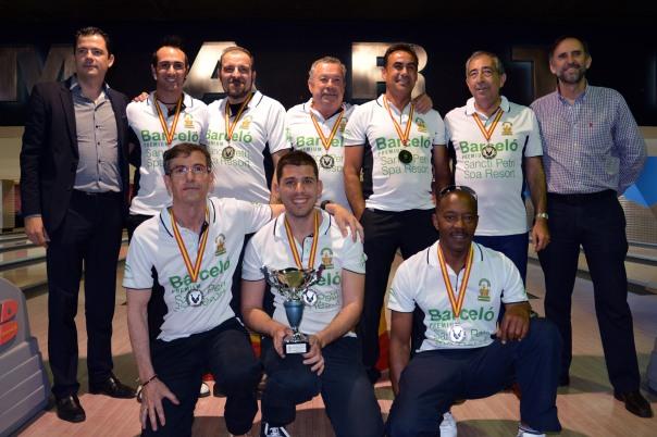 Seleccion andalucia de bowling subcampeona de España 2014