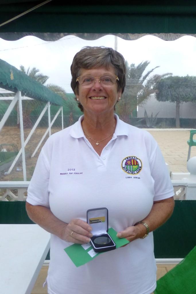 Campeonato de Andalucía Bolo Césped Linda Lester Singles Winner