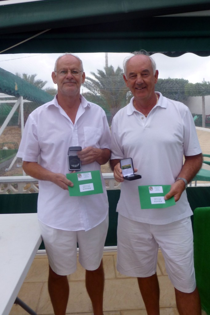 Campeonato de Andalucía Bolo Césped Mike Glitheroe & Gordon Kain Pairs Winners (1)
