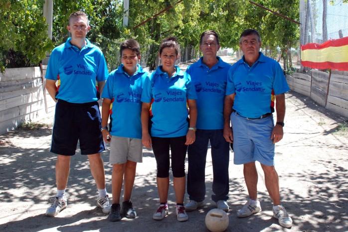 Club Viajes Sendatur El Ferial campeones nacionales