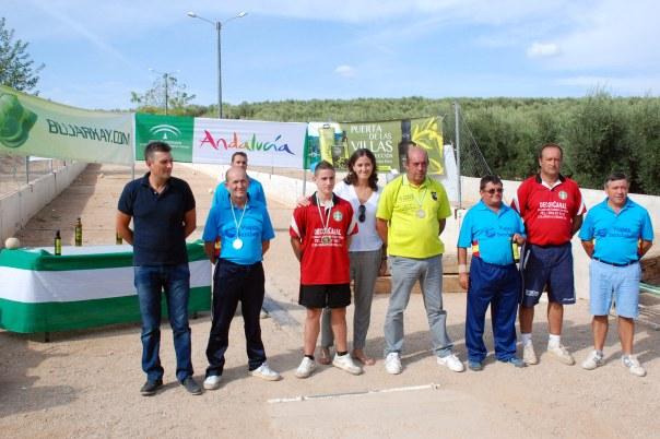 Podium-2ª-categoria-masculina-Campeonato-de-Andalucia-Bolo-Andaluz-Montaña-2014