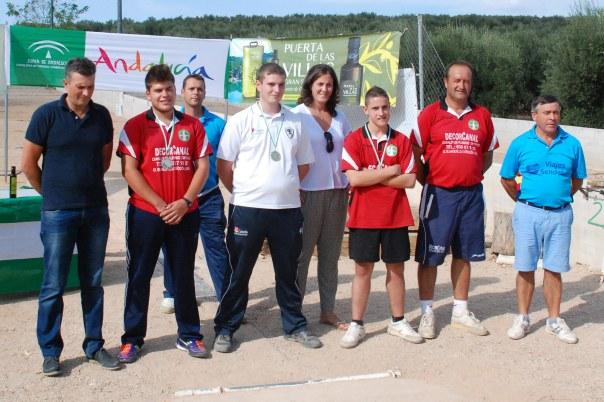 Podium-juveniles-Campeonato-de-Andalucia-Bolo-Andaluz-Montaña-2014
