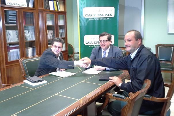 Firma Convenio Fundacion Caja Rural de Jaén