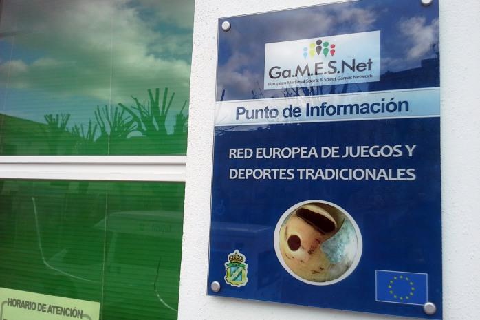 Punto de Informacion Red Europea cartel