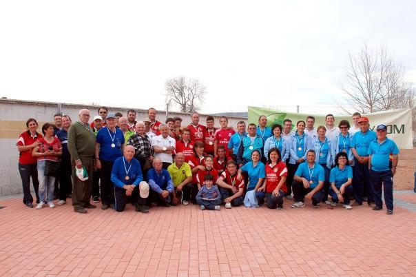 Campeonato de Andalucia bolo andaluz parejas 2015