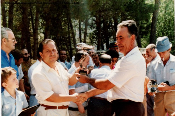 Orcera_-Santiago-González-Santoro-Bolos-entrega-de-premios_Agosto-84_-XIV-premio-provincial-de-Bolos