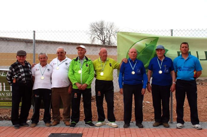 Podium veteranos