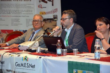 Conferencia Festival European Games Days 01