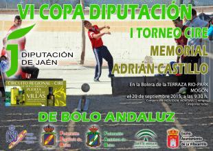 Cartel VI Copa Diputación de Bolo Andaluz Individual copia reducida
