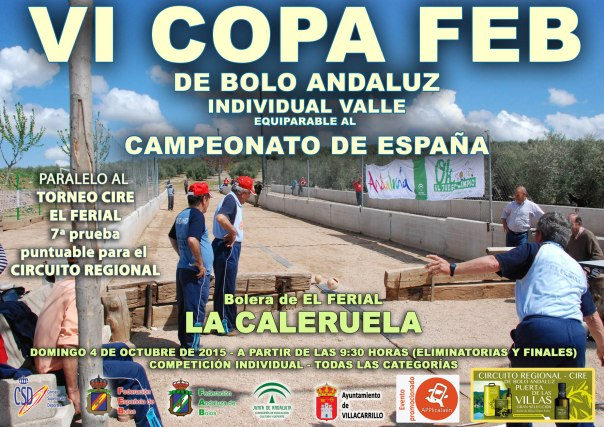 Cartel Copa FEB bolo andaluz VALLE 2015 copia RED