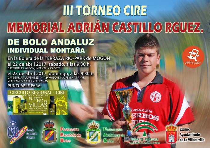 III Memorial Adrian red