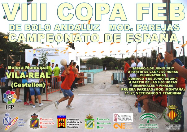 CARTEL COPA FEB PAREJAS RED