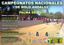 CARTEL COPA FEB BOLO ANDALUZ VALLE RED